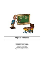 algebre bilineaire