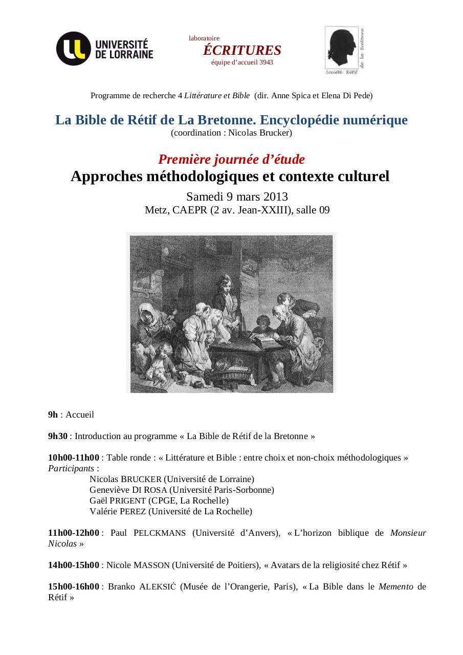Aperçu du document Bible de Retif - Journee1 - AFFICHE.pdf - page 1/1