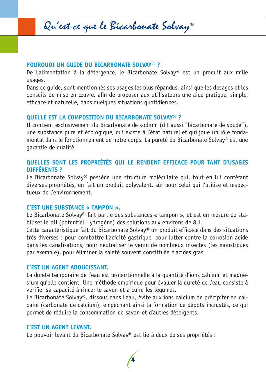 Brochure Bicarbonate Grand Public Fr 161006 Fichier Pdf