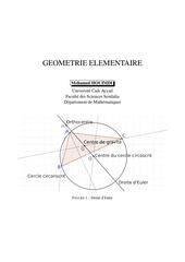 geometrie 2009