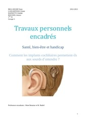 les implants cochleaires