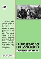 pensiero mazziniano democrazia rappresentativa e partiti politici