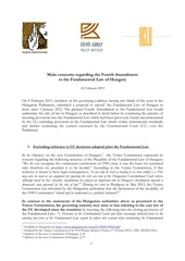 Fichier PDF appendix 1 main concerns regarding the 4th amendment to the fundamental law of hungary 2