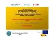 Fichier PDF presentation bourjad