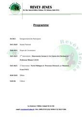 programme de 16 mars 2013