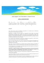 emission de titres participatifs
