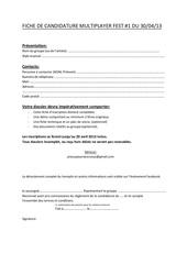 Fichier PDF fiche de candidature multiplayer fest 1