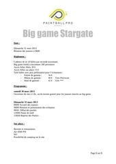 inscription big game stargate 23 mars 2013