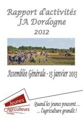 rapport d activites ja 24 2012