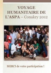 rapport voyage humanitaire aspa conakry 2012