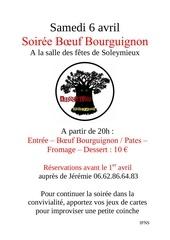 soiree bourguignon