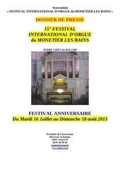 dossier de presse festival 2013 1
