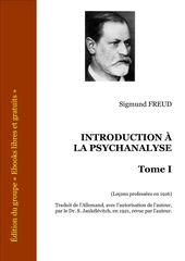 freud introduction a la psychanalyse 1