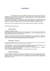 autoritaire ou laxiste ou legitime theorie xav2009