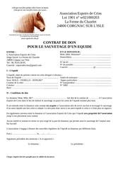 contrat de don edc
