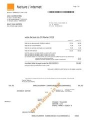 facture du 20130220
