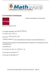 baccalaureat les fonctions numeriques maths 244