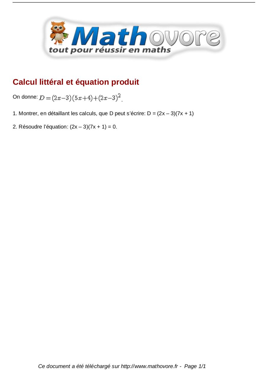 Aperçu du document brevet-calcul-litteral-et-equation-produit-maths-214.pdf - page 1/1