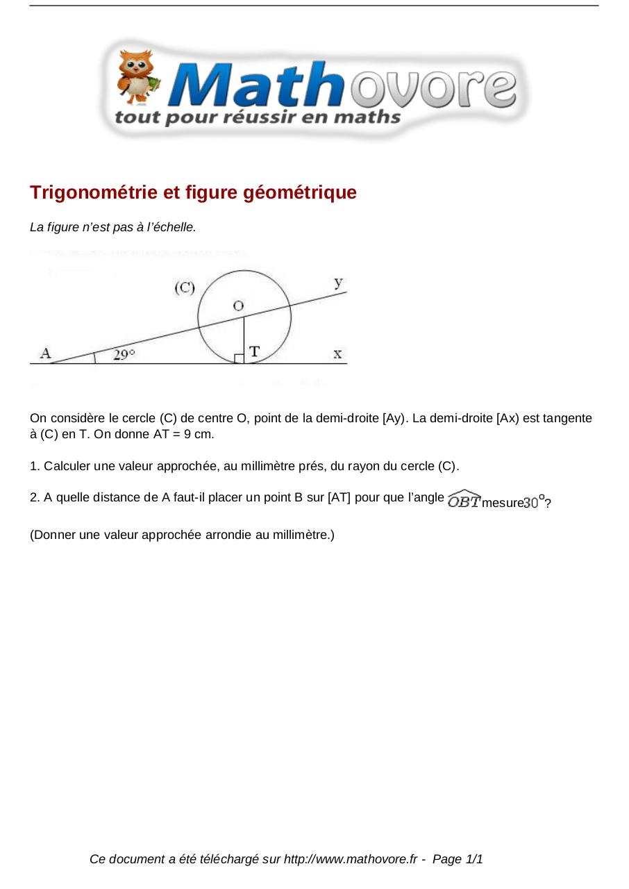 Aperçu du document brevet-trigonometrie-et-figure-geometrique-maths-219.pdf - page 1/1