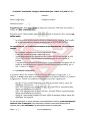 contrat d inscription voyage a amsterdam
