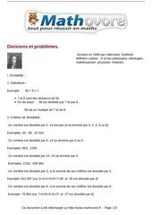 cours divisions et problemes maths sixieme 45