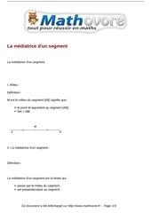 Fichier PDF cours la mediatrice d un segment maths sixieme 57