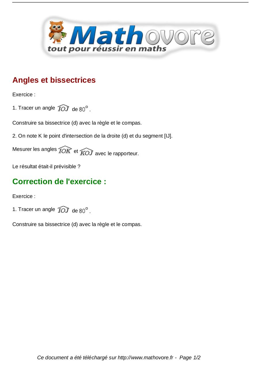 Aperçu du document exercices-angles-et-bissectrices-maths-sixieme-1231.pdf - page 1/2