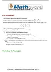 exercices bac probabilites maths terminale 394