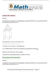 Fichier PDF exercices calcul de volume maths troisieme 366