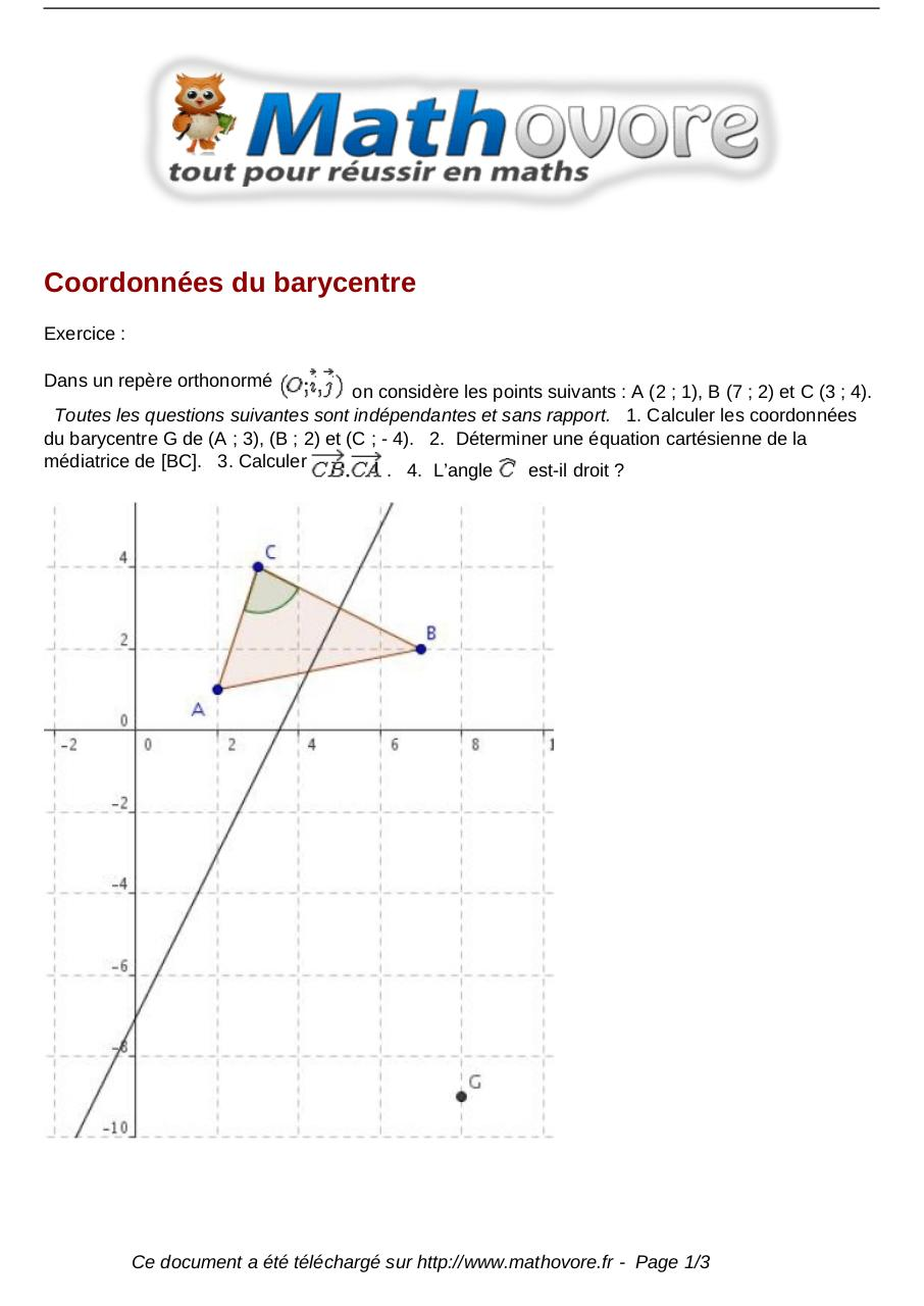 exercices-coordonnees-du-barycentre-maths-premiere-1069.pdf - page 1/3