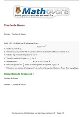 exercices courbe de gauss maths terminale 185