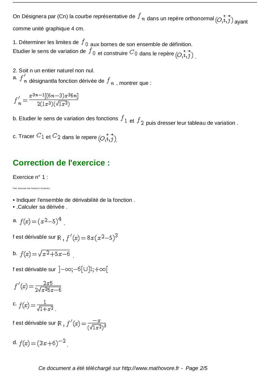 exercices-derivee-de-fonctions-maths-terminale-535 ...