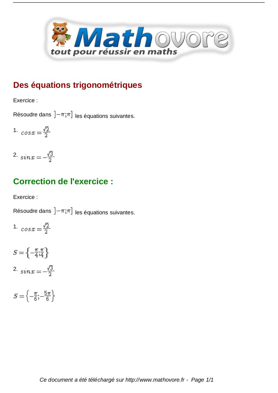 Aperçu du document exercices-des-equations-trigonometriques-maths-premiere-1133.pdf - page 1/1