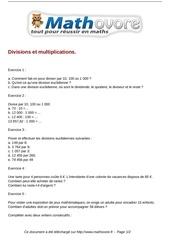 Fichier PDF exercices divisions et multiplications maths sixieme 117