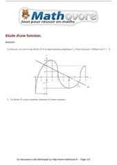 exercices etude d une fonction maths seconde 101