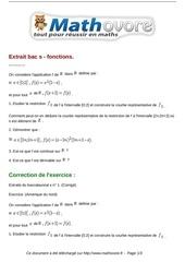 Fichier PDF exercices extrait bac s fonctions maths terminale 149