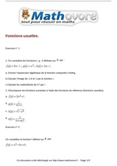 exercices fonctions usuelles maths seconde 134