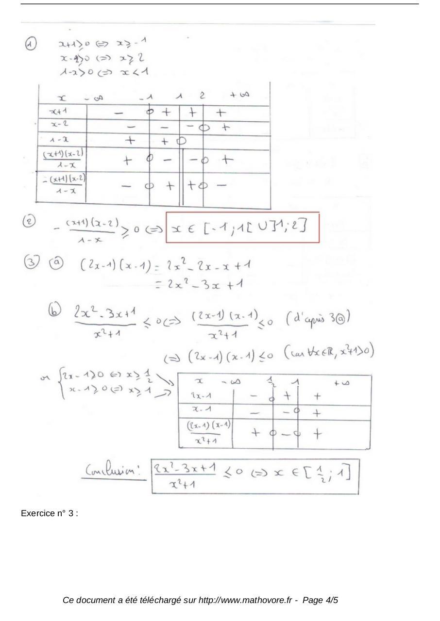 exercices generalites sur les fonctions maths seconde 135 - Fichier PDF