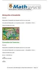 exercices mickeyville et donaldville maths cinquieme 1328