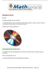 exercices nombres de cd maths troisieme 956