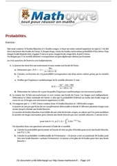 exercices probabilites maths terminale 401
