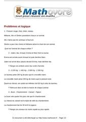 Fichier PDF exercices problemes et logique maths ce2 1486