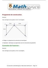 exercices programme de construction maths sixieme 706