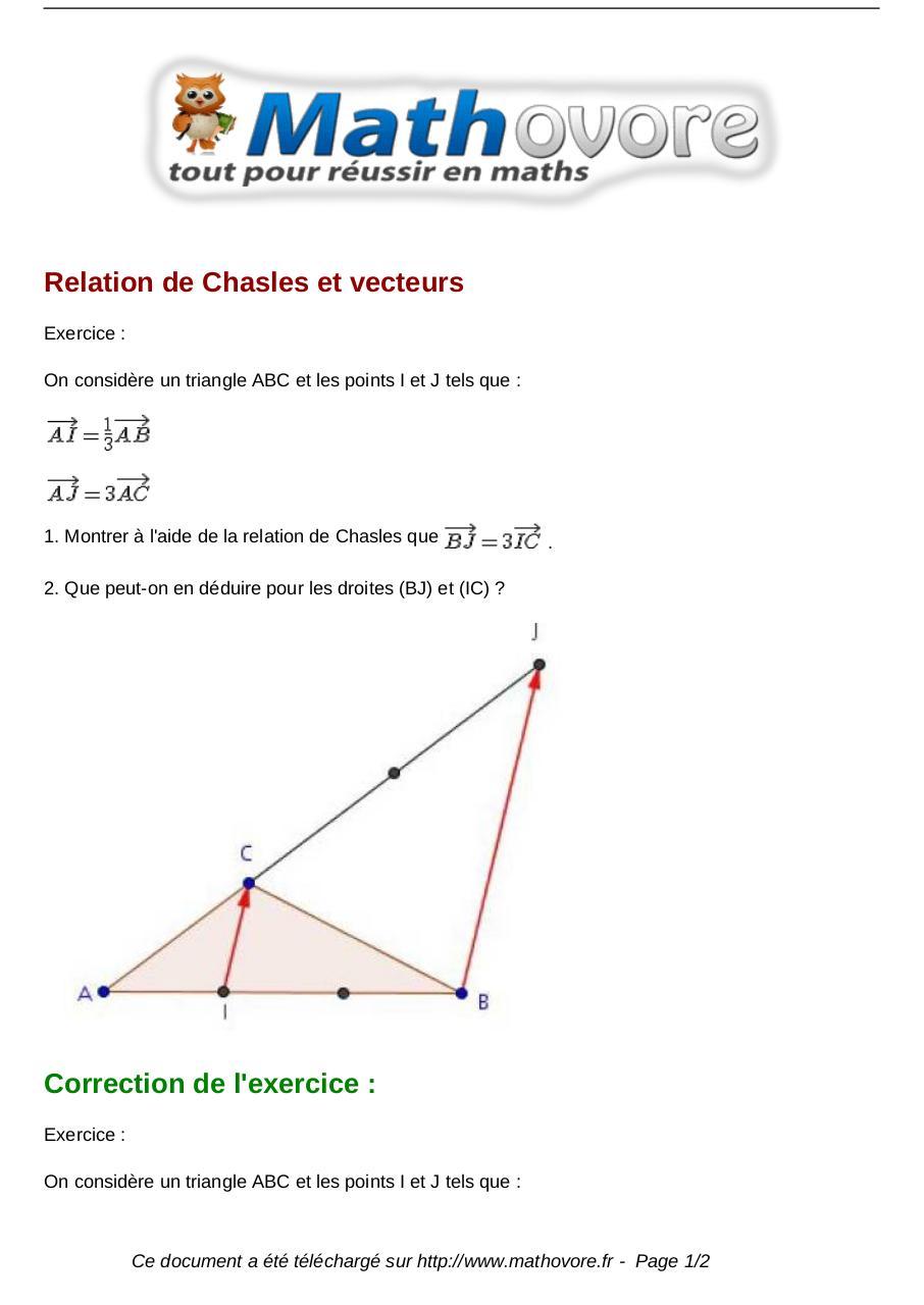 exercices-relation-de-chasles-et-vecteurs-maths-seconde ...