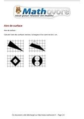 Fichier PDF probleme aire de surface maths 66
