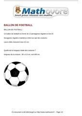 probleme ballon de football maths 296