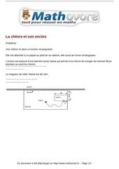 Fichier PDF probleme la chevre et son enclos maths 172