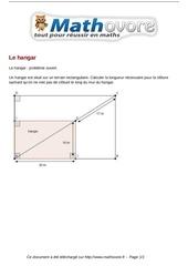 Fichier PDF probleme le hangar maths 42