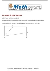 Fichier PDF probleme le terrain du pere francois maths 288