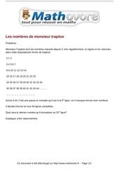 probleme les nombres de monsieur trapeze maths 277